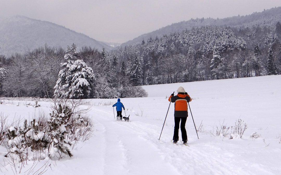 Na nartach po Łemkowszczyźnie